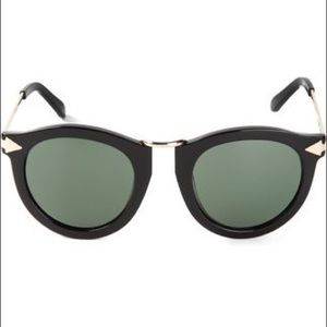 Karen Walker Arrow Corner Sunglasses